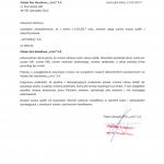 Pismo prezesa o zmianie nazwy spółki na Polska Sieć Handlowa Livio S.A.
